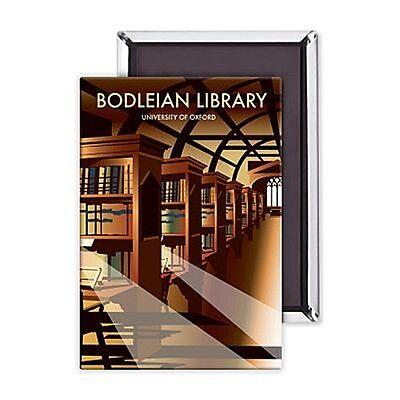 Bodleian Library fridge magnet   (se)