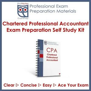 [CPA] Chartered Professional Accountant CFE PEP 2019