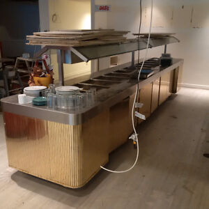 2 large 12 comp steam tables for sale priced to sell