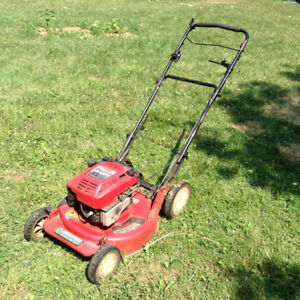 Snapper big six HP high torque muscle gas mower made in USA