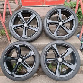 "Audi RS7 A7 21""Blade Alloys wheels genuine"