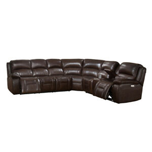 All Leather Sectional ON SALE 50% Off