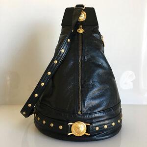Stunning Vintage AUTHENTIC GIANNI VERSACE Slingback Shoulder Bag