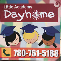 Dayhome-Agency appoved- Subsidy- 1 spot FT  September
