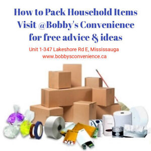 Packaging and Moving supplies in your convenience!