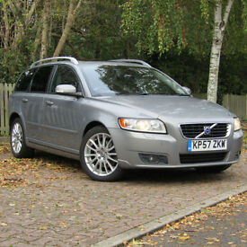 Volvo V50 2.0D SE Lux Sportswagon**DIESEL ESTATE**PSH**NEW MOT**FINANCE**