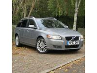 Volvo V50 2.0D SE Lux Sportswagon**DIESEL ESTATE**PSH**NEW MOT**FINANCE**