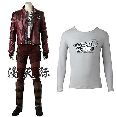 Guardians of the Galaxy Vol 2 Peter Jason Quill Star-Lord Cosplay Kostüm Costume ()