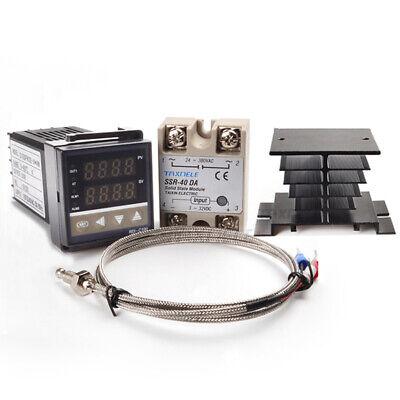 Digital Pid Temperature Controller Rex-c100 40da Ssr Relay K Thermocouple Rkc