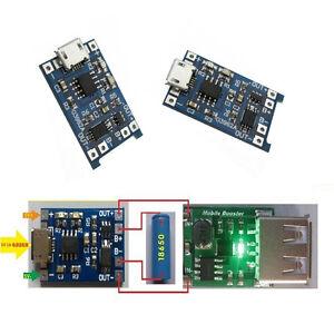 2pcs-TP4056-Micro-USB-5V-1A-Lithium-Battery-Charging-Module-Lipo-Charger-TE585