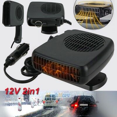 - 150W 12V Car Truck Auto Heater Hot Cool Fan Windscreen Window Demister Defroster