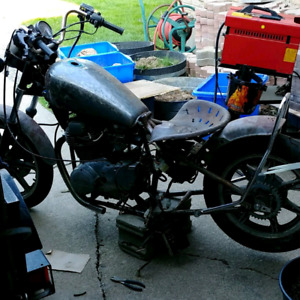 Looking for a 82 yamaha xs400 parts bike
