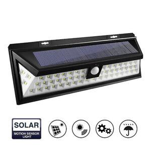 54-LED Solar Power Light Motion Sensor Outdoor Security Lamp