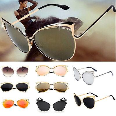 Fashion Cat Eye Sunglasses Classic Designer Women Retro Shades Eyewear A (Retro Cat Eye)