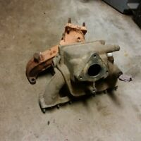 Bombardier iltis intake and exhaust manifolds