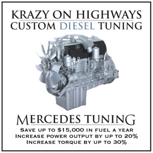 Krazy On Highways Custom Mercedes EGR,DPF&SCR Delete Tuning