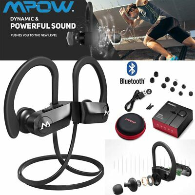 MPOW D7 Wireless Bluetooth Sports Ohrhörer Stereo Hifi Bass Kopfhörer Headset Wireless Bluetooth Stereo Kopfhörer