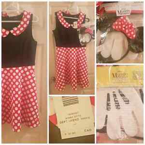 SM woman's Minnie mouse costume