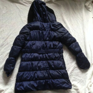 London Fog Ultra Light Dark Blue Girl Winter Jacket