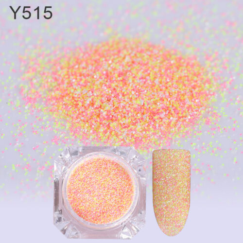 Nail Art Sugar Sandy Glitter Powder Dust Decoration Nail Tips DIY Born Pretty