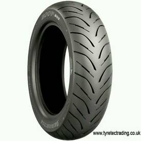 BRIDGESTONE HOOP B02 G 130/70-16 61P REAR SCOOTER TYRE