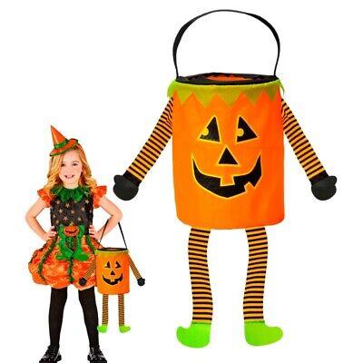 HALLOWEEN - KÜRBIS - BETTELTASCHE KINDER Kostüm Zubehör - Kinder Halloween Zubehör
