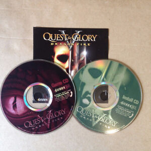 Two Sierra Games (late 90s): Space Quest 6 & Quest for Glory 5