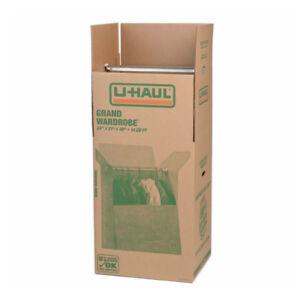 U-Haul Grand Wardrobe Boxes