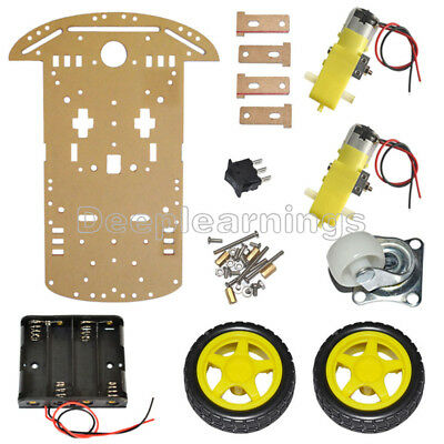 eBay - 2WD Smart Robot Chassis Kit