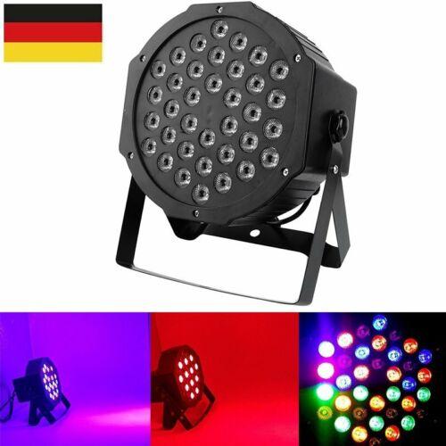 36 LED Bühnenbeleuchtung RGB DMX DJ Disco Club Stagelampe Strahler Effekt Licht