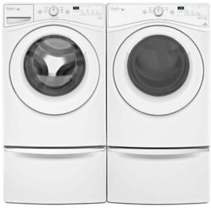 Whirlpool WFW75HEFW Front Load Washer And YWED75HEFW Dryer Pair