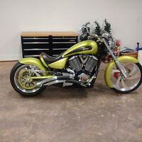 Full Custom Victory Vegas Low One Of A Kind