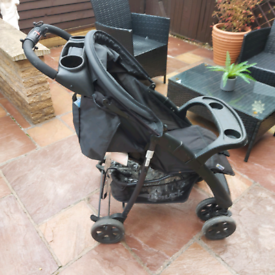 Hauck pram / buggy / stroller with rain cover
