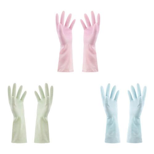 New Gloves Dishwashing Tea Tree Oil Rubber Latex Leather Kit