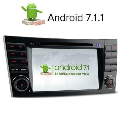 Android GPS Radio für Mercedes Benz W211 E/CLS/G Klasse W463 W219 Bluetooth DVD