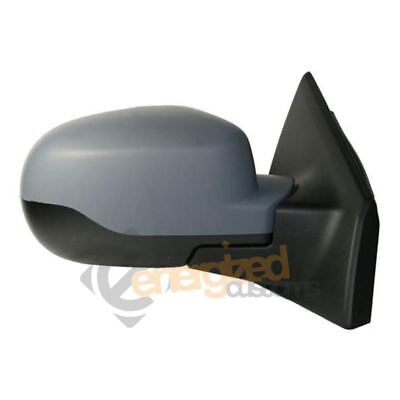 Renault Clio Mk3 2009-2013 Electric Wing Door Mirror Primed Cover Drivers Side