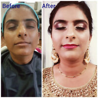 Makeup and hair artist in brampton mississauga GTA