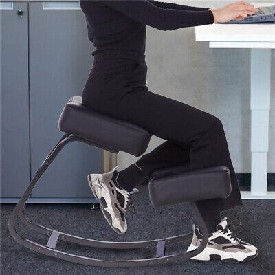 Ergonomic Balancing Kneeling Chair Rocking Kneel Stool Padded Seat Furniture New