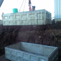 septic tanks,cisterns,holding tanks,water tanks,water lines