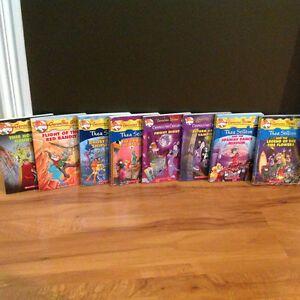 Thea and Geronimo Stilton book collection