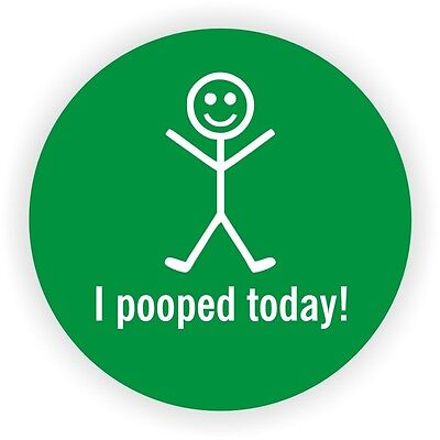 I Pooped Today Hard Hat Sticker Welding Safety Helmet Decal Funny Label
