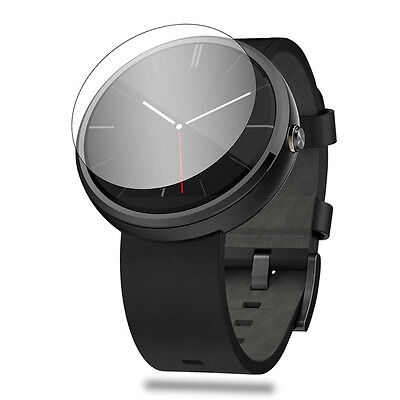 Clear HD Screen Protector Cover For Motorola Moto 360 Smartwatch##