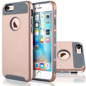 TOUGH ARMY SILVER HYBRID BRUSHED CASE COVER FOR IPHONE 6 & 6S Regina Regina Area image 7