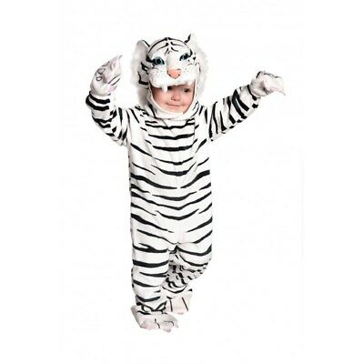 Underwraps Tiger White Animal Suit Toddler Child Halloween Costume 26022