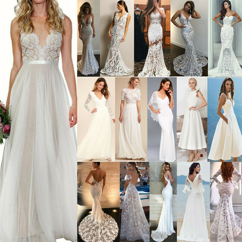 Damen Abendkleid Ballkleid Partykleid Brautjungfer Hochzeitkleid Lange Maxikleid