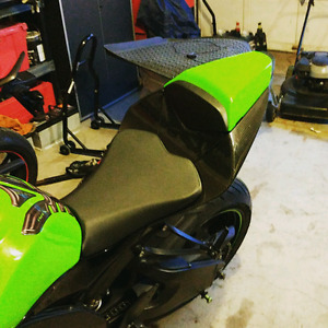 ZX10R 08-10 carbon fiber tail