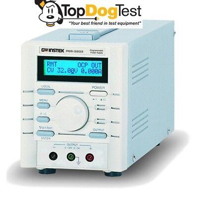 Gw Instek Pss-3203 Programmable Power Supply 32v 3a