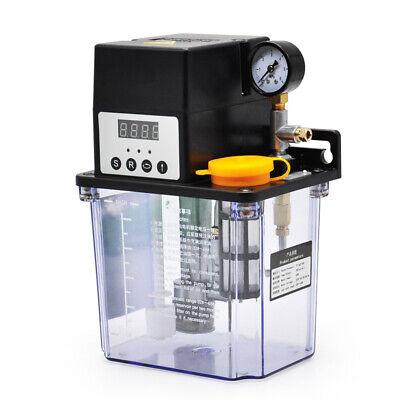 2l Automatic Lubrication Pump Cnc Digital Electronic Timer Oiler 220v
