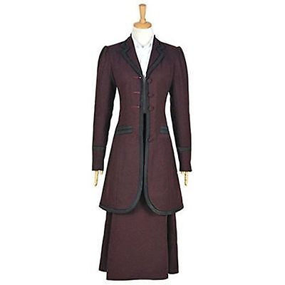 Hot! Doctor Who 8th Season Female Missy Mistress Cosplay Costume FF.716