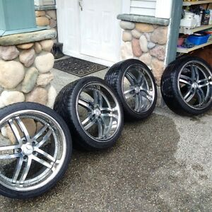 "High quality 20"" Mercedes Benz rims & tires"